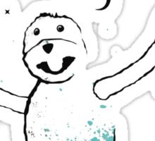 Flat Eric (Mr. Oizo) - Stay Positif Sticker
