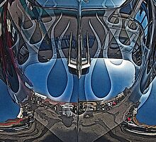 Jalopy Hood Reflections by Samuel Sheats