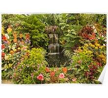 Butchart Gardens Glass House Poster