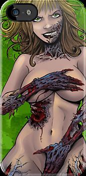 Zombie Girl by Brian Allen