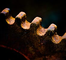 Old, rusty cogwheel by marina63