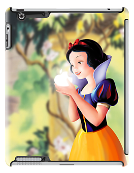 Miss White apple logo iPhone and iPad case by erndub