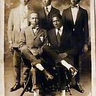 5 Serious Black Gentlemen by Vintaged