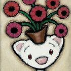 Flower Pot by Shelly  Mundel