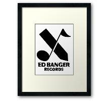 Ed Banger Records - Logo Framed Print