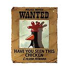 have you seen this chicken ?? ipad case by ludlowghostwalk