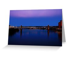 Roebling Connecting Two Cities Greeting Card