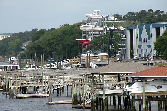 Multi-storey Yacht Parking ! by Trish Meyer