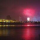 Latvia's 94th anniversary fireworks by Martins Blumbergs