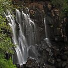 Waterfall in Aros Park by WatscapePhoto