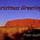 Christmas greetings from Australia by myraj