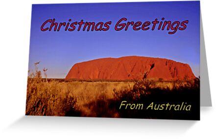 Christmas greetings from Australia by myraj