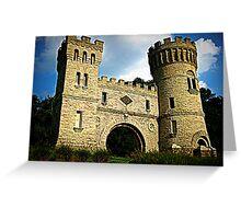 The Castle Cincinnati Greeting Card