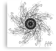 Jelly spin Canvas Print