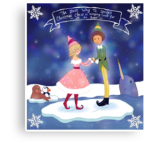 Christmas Cheer - Elf Canvas Print