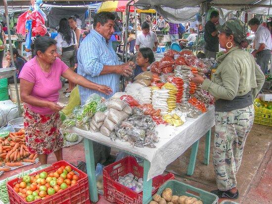 Saturday Morning... Public Market in San Ignacio -Belize, Central America by 242Digital