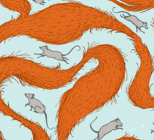 Fox Tail Maze Sticker
