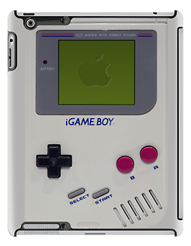 Play On! Retro Gameboy Red by HighDesign