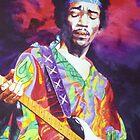 Jimi Hendrix 2 by kenmeyerjr
