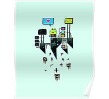 Kikkerstein - Statistical Pixel Genius Poster