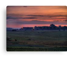 Dawn at the Horse Ranch Canvas Print