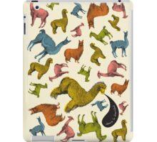 Camelids - Abrace la Diversidad iPad Case/Skin