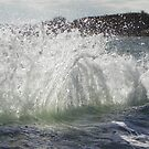 Backwash Waves by MaryinMaine