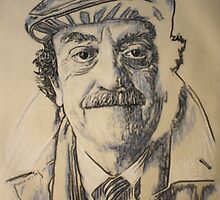 Kurt Vonnegut jr by Peter Brandt