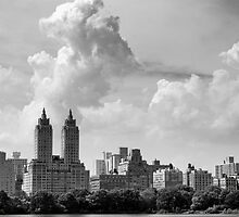 San Remo and Clouds by Randy  Le'Moine