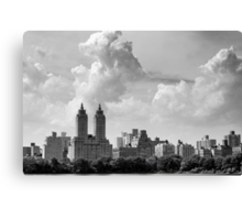 San Remo and Clouds Canvas Print