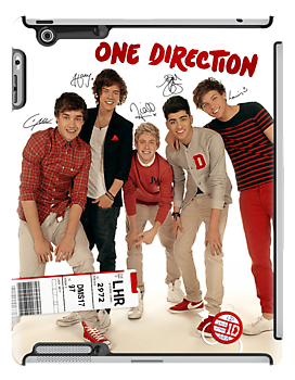 One Direction '1D' iPad Case Design by Creat1ve