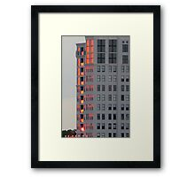 Sunset Reflections in St. Pete Framed Print