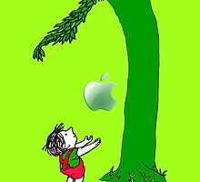 Green, Tree and Kids with an apple iphone 5, iphone 4 4s, iPhone 3Gs, iPod Touch 4g case, Available for T-Shirt man and woman by pointsalestore Corps