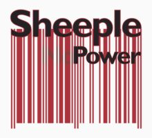 Sheeple NoPowerRed by Paul Fleetham