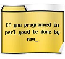 Programming in Pearl - Geek Cards Poster