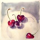 New season cherries by Barbara Gray