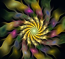 Flower Ripples by Pam Amos