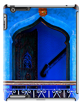 The Blue City III [Print & iPad Case] by Damienne Bingham