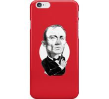 Daniel Craig as James Bond iPhone Case/Skin