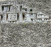 Mayan World   iPad Case by 242Digital