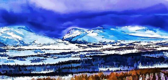 WINTER LANDSCAPE  by fedda95