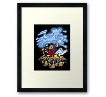 The Wizard's Apprentice Framed Print