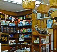 Interior Corner of Speciality Foods Shop by magicaltrails