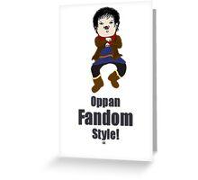 Oppa Merlin Style! Greeting Card