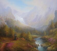 The Misty Mountains by Joe Gilronan