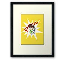 Chibi Doctor Octopus Framed Print