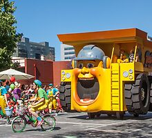 Toby the big yellow dump truck by DPalmer