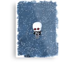 Chibi Mr. Freeze Metal Print