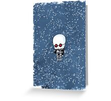 Chibi Mr. Freeze Greeting Card