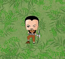 Chibi Kraven the Hunter by artwaste